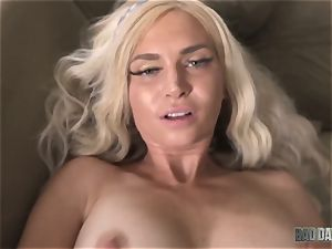 Astrid starlet creamed cunt with spunk of her stepparent