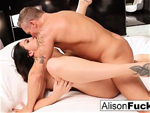 super hot hotel apartment drilling with Alison and Marcus