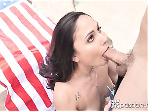 PASSION-HD Backyard 4th of July outdoor ravage