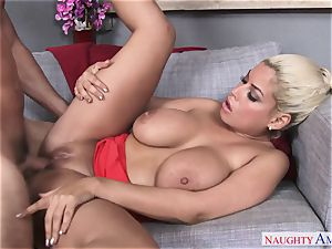 promiscuous Hispanic girl with big breasts wants her fresh youthfull neighbor