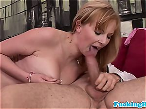 big-boobed eurogirl titfucked on her bed