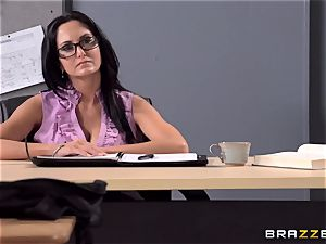 big-boobed lecturer Ava Addams is boinked by her schoolgirl