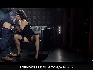 xCHIMERA - Amirah Adara creampied in fetish hookup scene