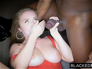 BLACKEDRAW gigantic knocker white doll gets double teamed by BBCs